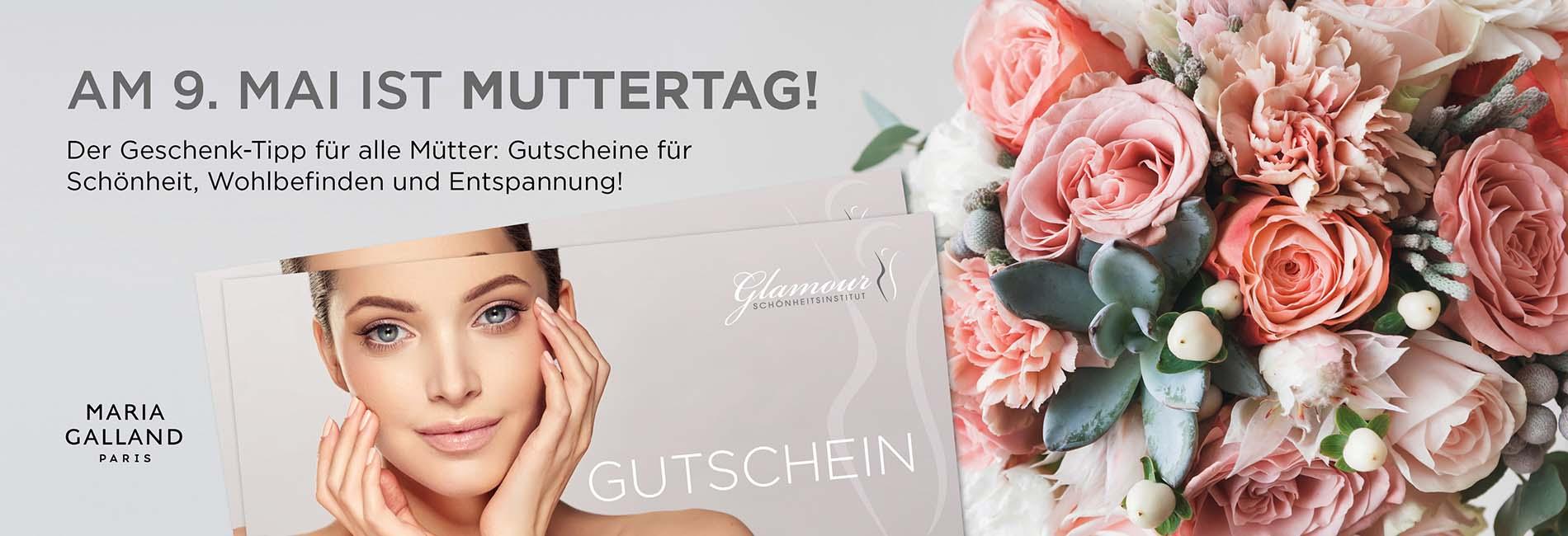 Glamour Schönheitsinstitut Webbanner Gutscheine Muttertag 900×650